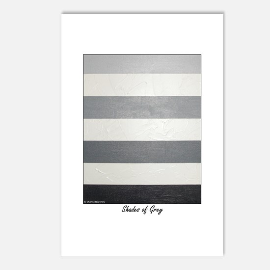 Shades of Grey Postcards (Package of 8)