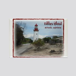 Robben Island Rectangle Magnet