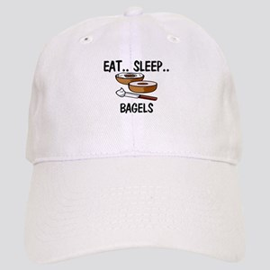 Eat ... Sleep ... BAGELS Cap