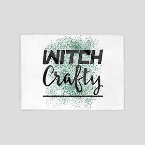 Witch Crafty 5'x7'Area Rug