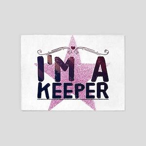I'm A Keeper 5'x7'Area Rug