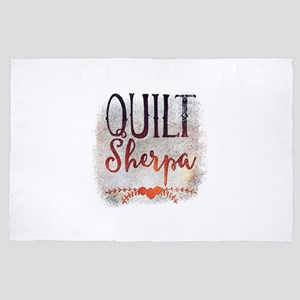 Quilt Sherpa 4' x 6' Rug