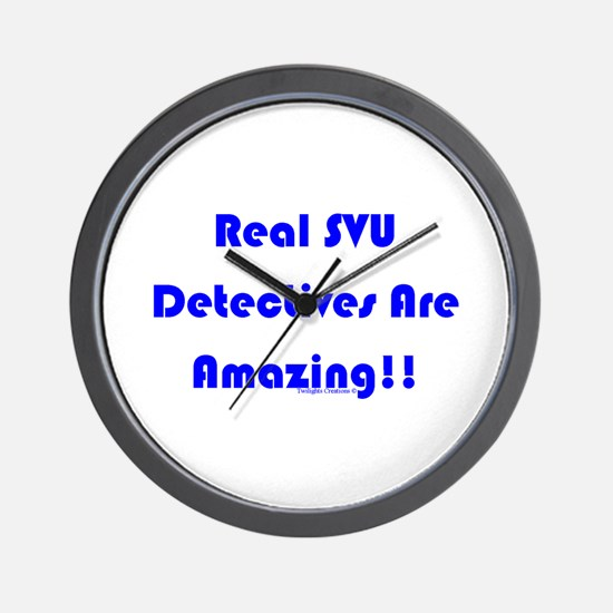 Real SVU Det. Amazing Wall Clock
