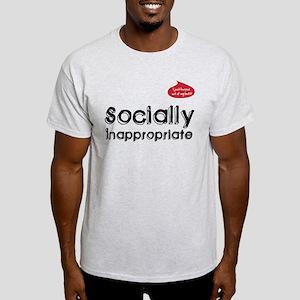 Socially Inappropriate Gear Light T-Shirt