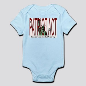 Patriot Act Imprisons Liberty Infant Creeper