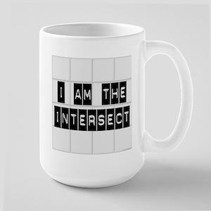 I am the Intersect - Chuck Large Mug