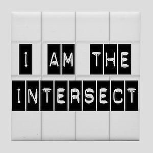I am the Intersect - Chuck Tile Coaster