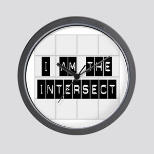 I am the Intersect - Chuck Wall Clock