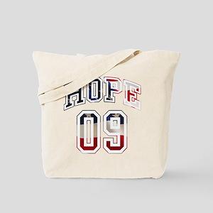 Obama Hope 09 Tote Bag