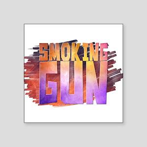 smoking gun Sticker
