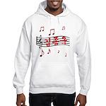 """""""Musical Kim Jong Kook"""" Hooded Sweatshirt"""