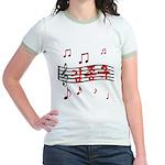 """""""Musical Kim Jong Kook"""" Jr. Ringer T-Shirt"""
