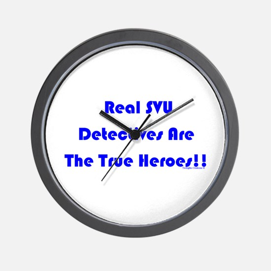 True Heroes Wall Clock