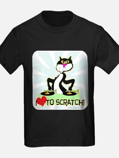 I love to scratch T