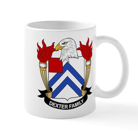 Dexter Family Crest Mug