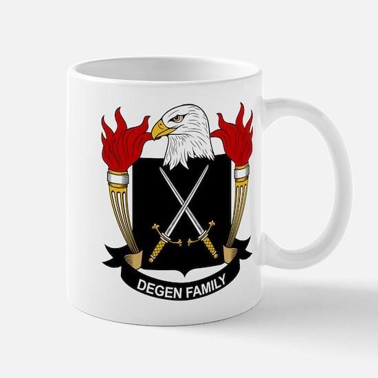 Degen Family Crest Mug