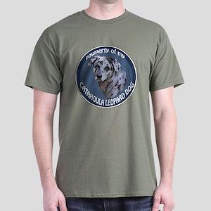 catahoula pawperty Dark T-Shirt