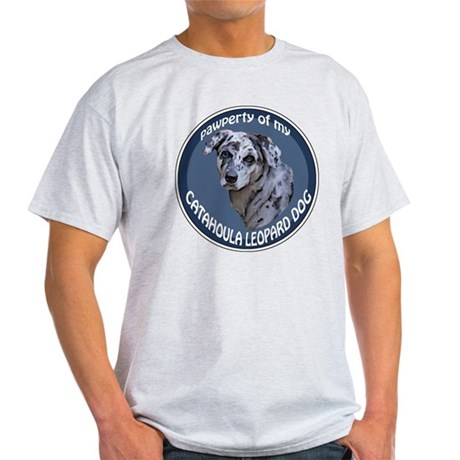 catahoula pawperty Light T-Shirt