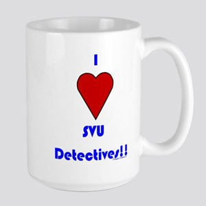 Heart SVU Detectives Large Mug