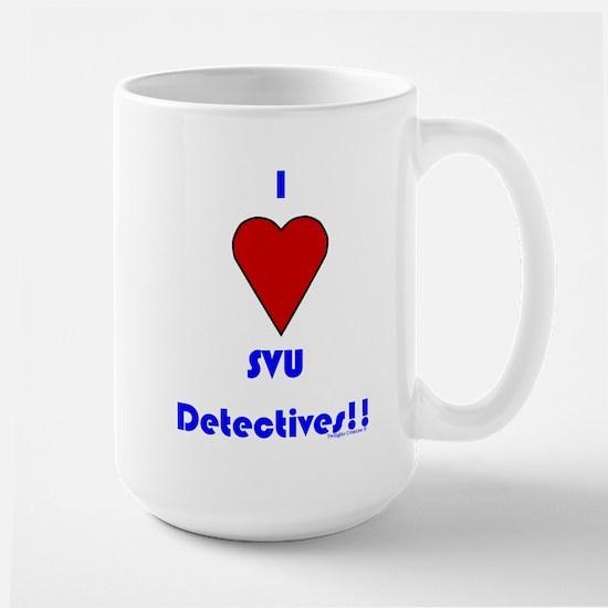 Heart SVU Detectives Large Mug
