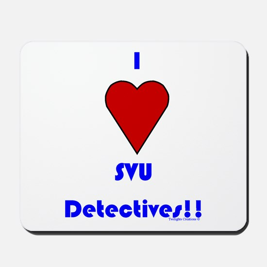 Heart SVU Detectives Mousepad