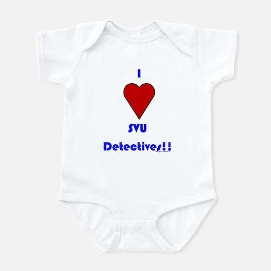 Heart SVU Detectives Infant Bodysuit