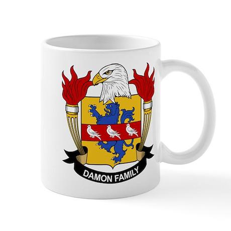 Damon Family Crest Mug