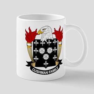 Cushman Family Crest Mug