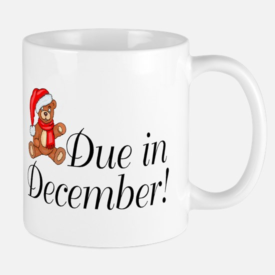Due In December Mug
