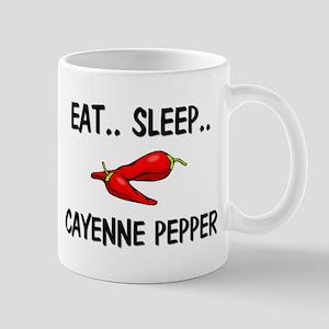 Eat ... Sleep ... CAYENNE PEPPER Mug