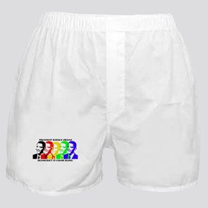 Democracy is Color Blind Boxer Shorts