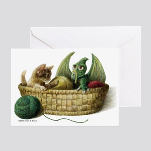 Y is for Yarn Greeting Cards (Pack of 6)