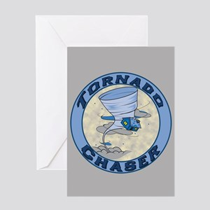 Tornado Chaser Greeting Card