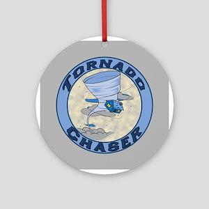 Tornado Chaser Ornament (Round)