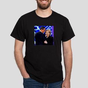 Obama & Clinton Dark T-Shirt