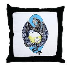 Dragon Nest Throw Pillow
