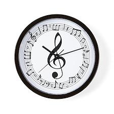 Drum Major Band Director Wall Clock