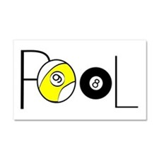 Word Pool Car Magnet 20 x 12