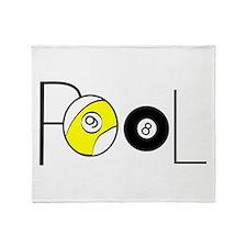 Word Pool Throw Blanket