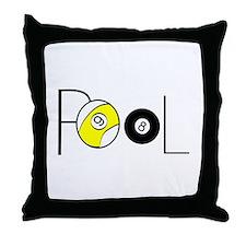 Word Pool Throw Pillow