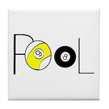 Word Pool Tile Coaster