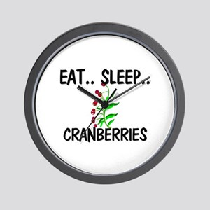 Eat ... Sleep ... CRANBERRIES Wall Clock