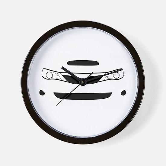 Funny Subarus Wall Clock