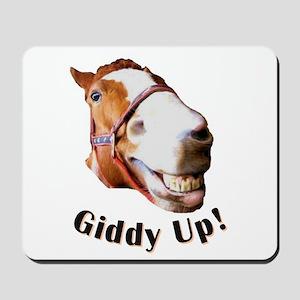 Giddy Up! Mousepad