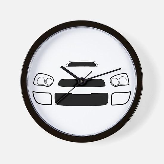 Cool Subarus Wall Clock