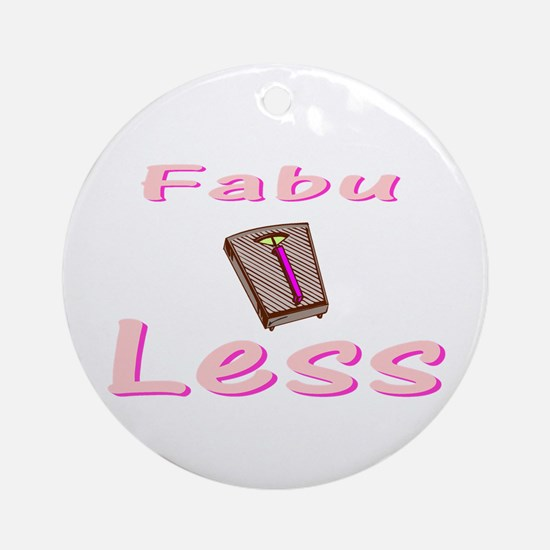 FabuLESS Ornament (Round)