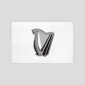 Harp Icon 4' x 6' Rug