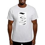 Exploded Phone Light T-Shirt