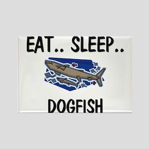 Eat ... Sleep ... DOGFISH Rectangle Magnet