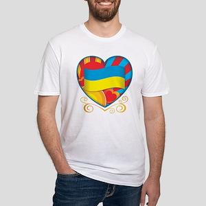 Ukrainian Fitted T-Shirt